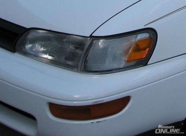 1995 Toyota Corolla - Bumper Before