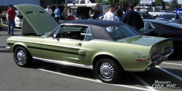 1968 Mustang GT/CS California Special