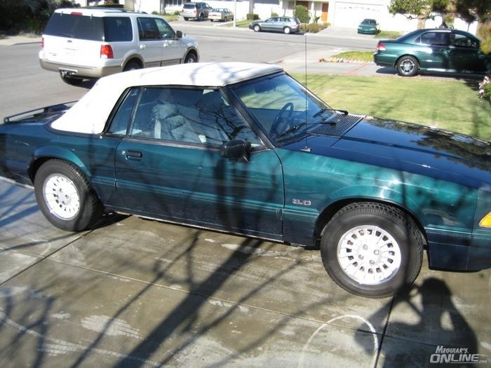 1990 Mustang Detail