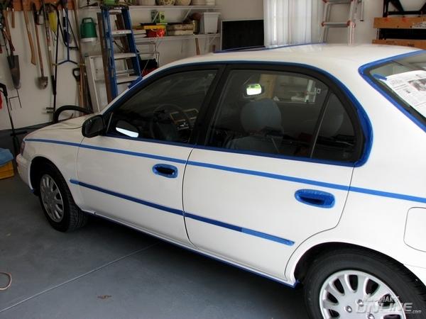 1995 Toyota Corolla - Tape Job