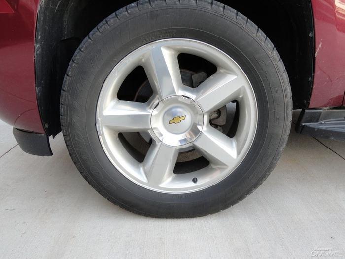 Wheel Shot Before
